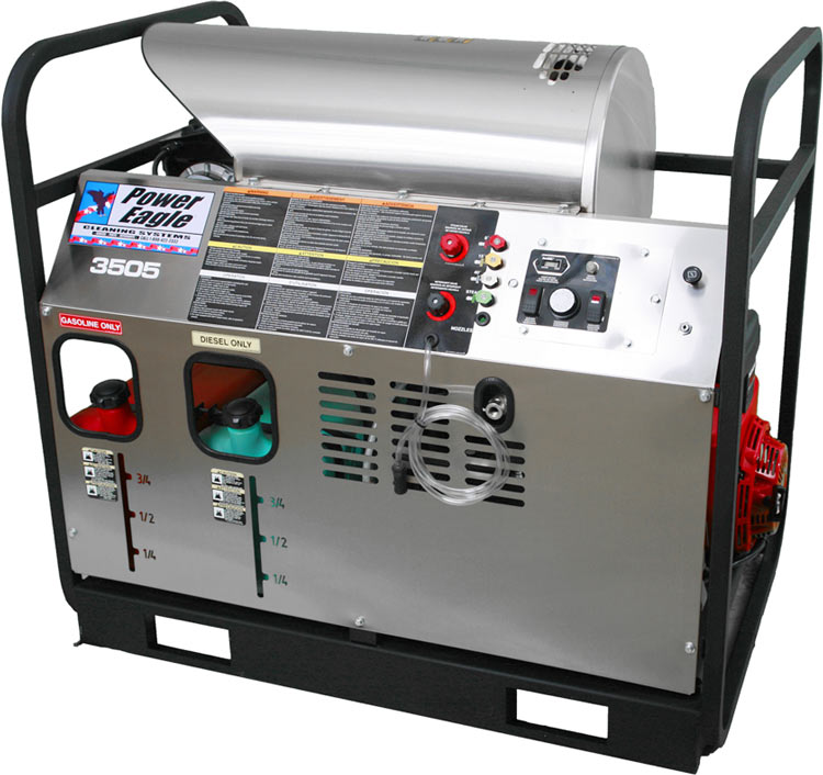 Hot Pressure Washers Power Eagle Cleaning Systems